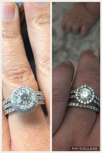 engagement ring in red bud illinois